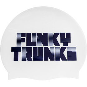 Funky Trunks Silicone Swimming Cap Heren, space cadet